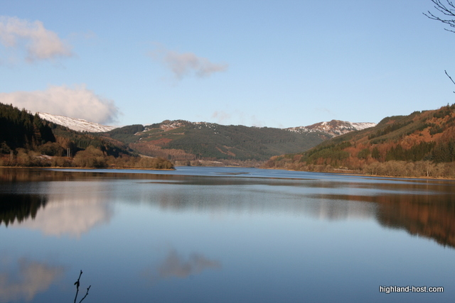 Loch Lubnaig in Winter